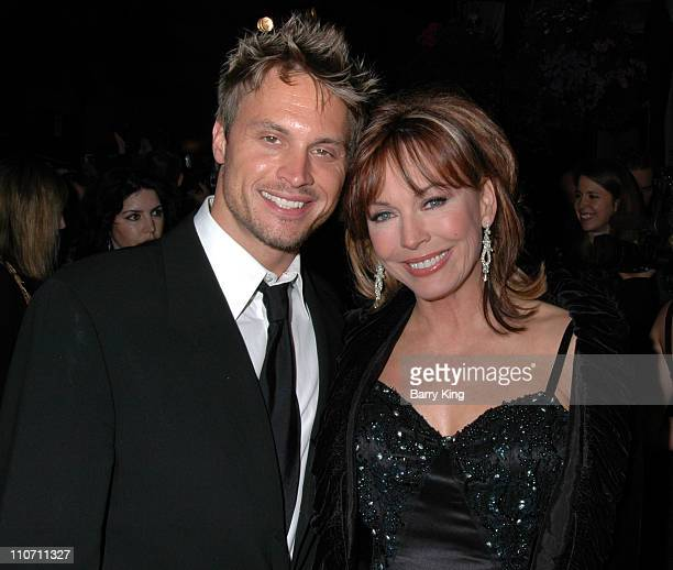 """Dax Griffin and Lesley-Anne Down during """"The Bold and the Beautiful"""" 20th Anniversary Gala - Arrivals at Two Rodeo in Beverly Hills, California,..."""