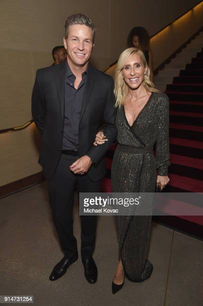 Dax Miller and Alexandra von Furstenberg celebrate with Belvedere Vodka at the Rachel Zoe Fall 2018 Presentation in Los Angeles CA