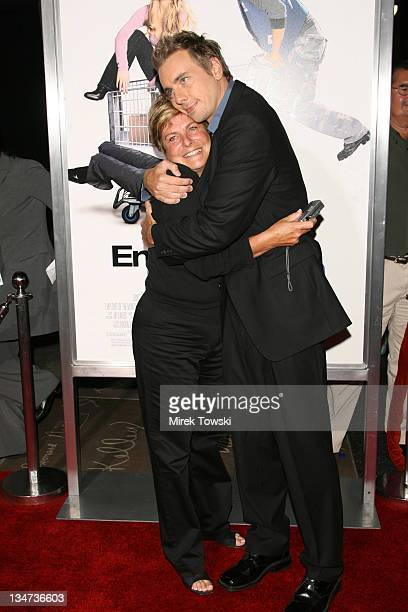 Dax Shepard and his mother during 'Employee of the Month' Los Angeles Premiere Arrivals at Mann's Chinese Theater in Hollywood California United...