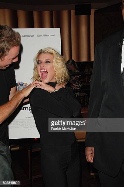 Dax Shepard and Jessica Simpson attend 'Employee of the Month' afterparty hosted by Whiteflashcom at Tenjune NYC on October 4 2006