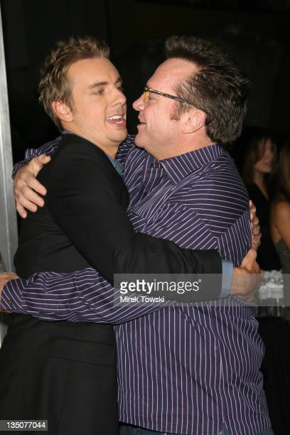 Dax Shepard and Tom Arnold during 'Employee of the Month' Los Angeles Premiere Arrivals at Mann's Chinese Theater in Hollywood California United...