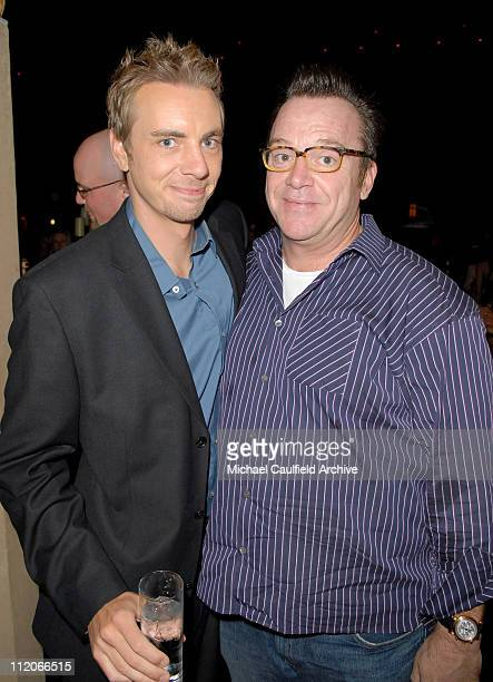 Dax Shepard and Tom Arnold during LionsGate's 'Employee of the Month' Los Angeles Premiere at Mann's Chinese Theater in Hollywood California United...