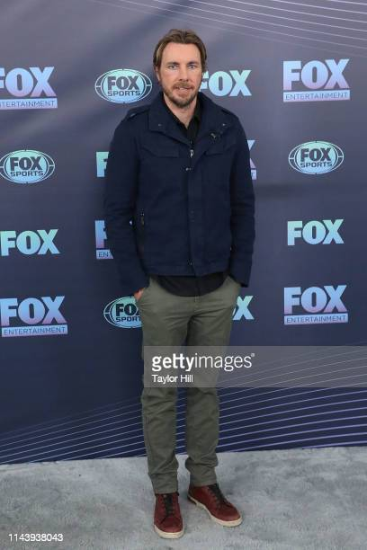 Dax Shepard attends the 2019 Fox Upfront at Wollman Rink, Central Park on May 13, 2019 in New York City.