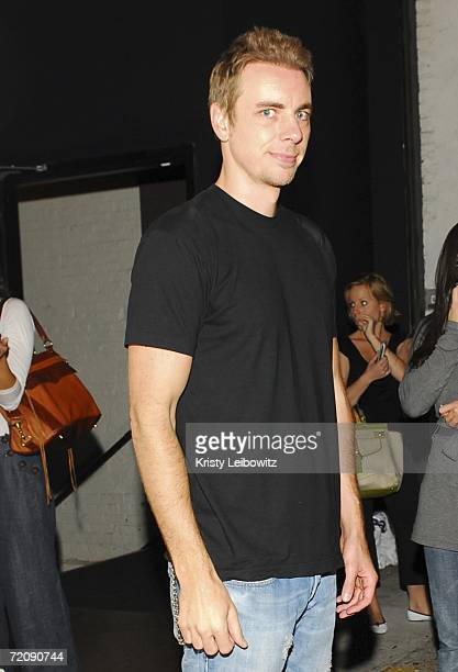 Dax Shepard attends the Employee Of The Month party at Tenjune on October 4 2006 in New York City