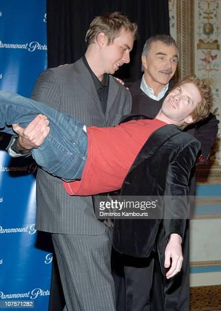 Dax Shepard Burt Reynolds and Seth Green