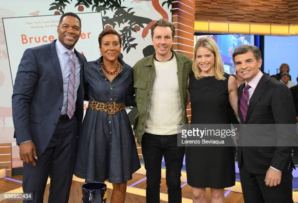 AMERICA Dax Shepard is a guest on Good Morning America Wednesday March 22 airing on the Walt Disney Television via Getty Images Television Network...