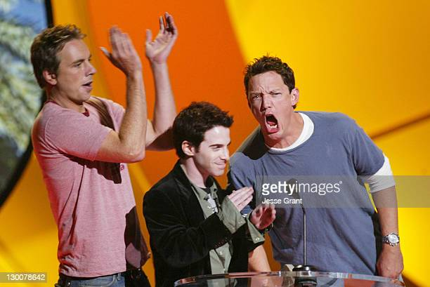 Dax Shepard Seth Green and Matthew Lillard during The 2004 Teen Choice Awards Show at Universal Amphitheatre in Universal City California United...