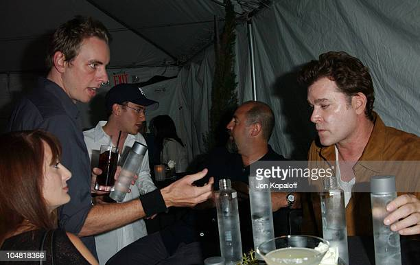 Dax Sheppard Ray Liotta during Endeavor's MTV Movie Awards Party Featuring Ciroc Vodka And LG Mobile Phones at Dolce in West Hollywood California...
