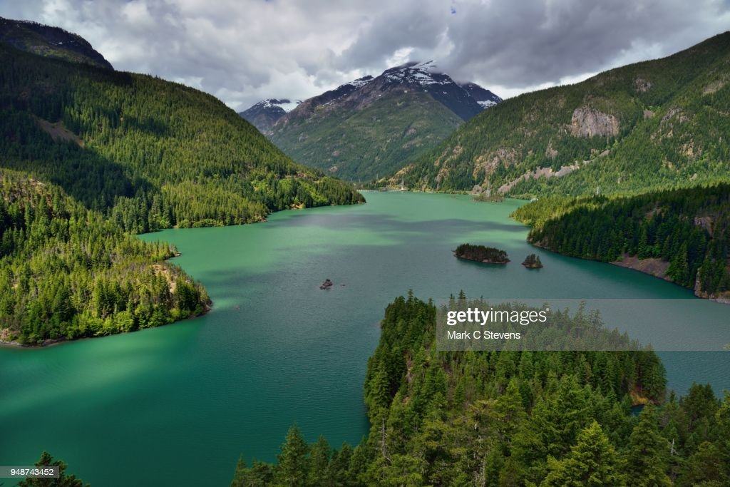 A Day After the Rains, A Beautiful Day : Stock Photo
