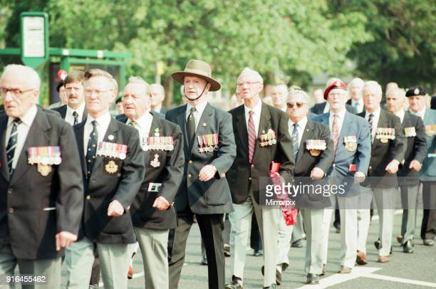 Day Anniversary,Parade to Cenotaph, Middlesbrough, Sunday 20th August 1995.