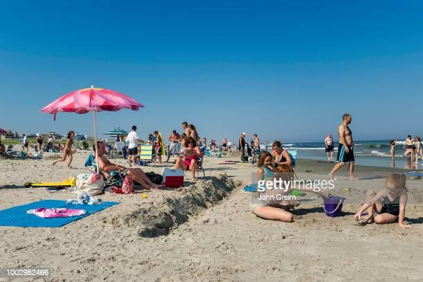 Day at the beach, Ocean City.