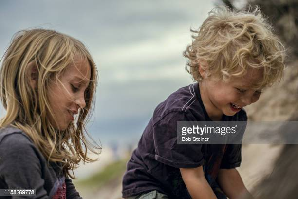 a day at the beach - east hampton stock pictures, royalty-free photos & images