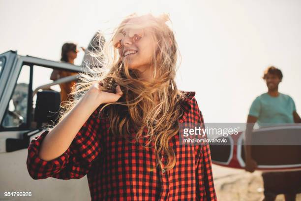 day at the beach - teasing stock pictures, royalty-free photos & images