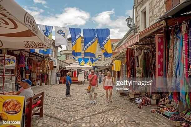 journée de mostar rues - guerre de bosnie-herzégovine photos et images de collection