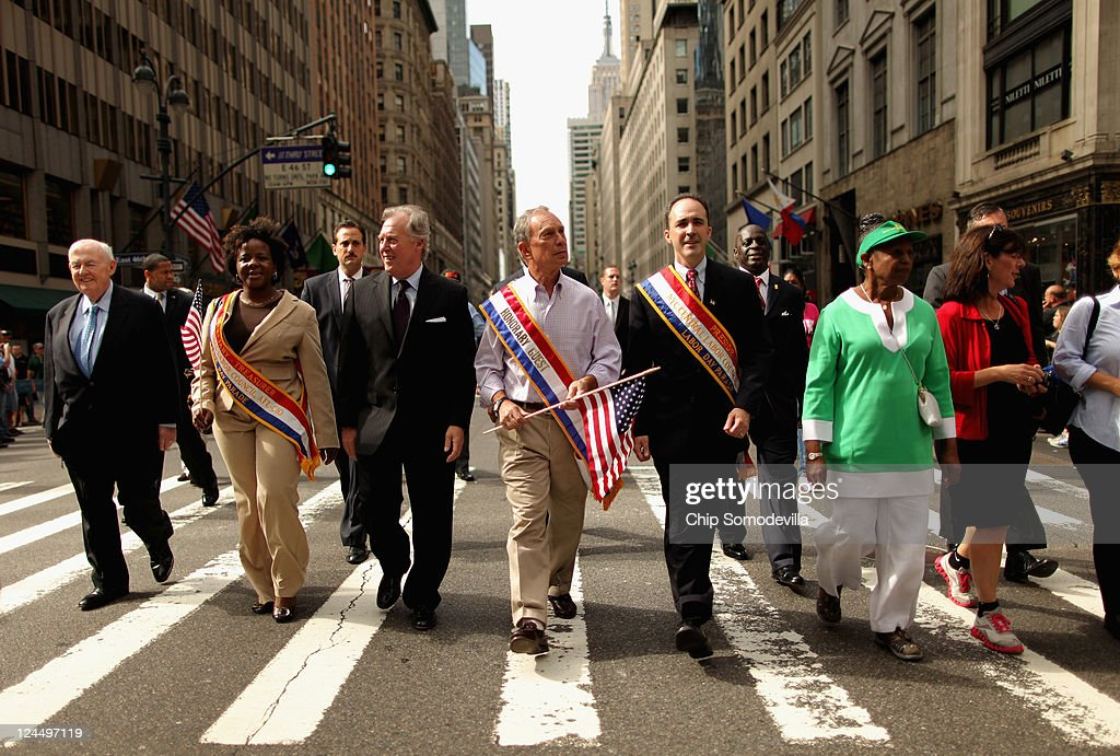 Labor Day March Held In New York City Amid Sept. 11th Anniversary Remembrances
