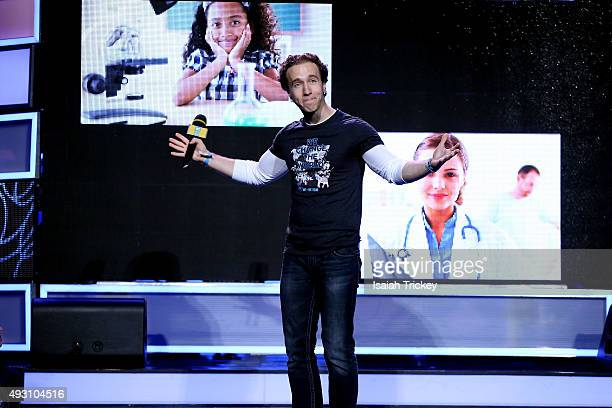 Day co-founder Craig Kielburger on stage at WE Day Toronto at the Air Canada Centre on October 1, 2015 in Toronto, Canada.