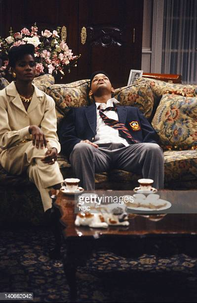 AIR Day Damn One Episode 114 Pictured Janet Hubert as Vivian Banks Will Smith as William 'Will' Smith