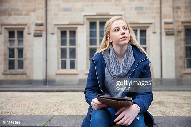 Day Dreaming Student