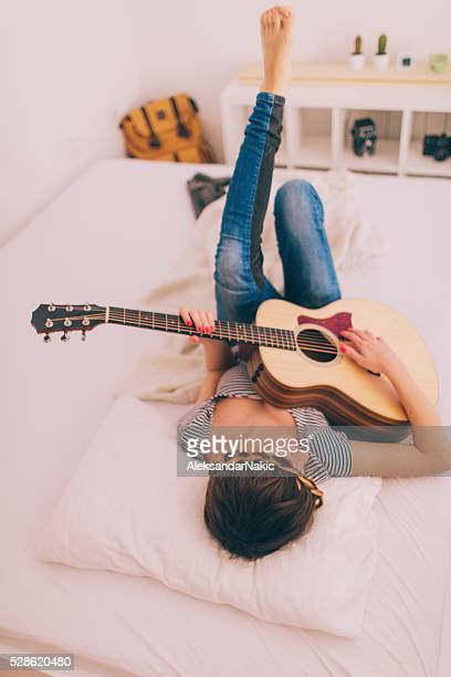 Day dreaming with my guitar