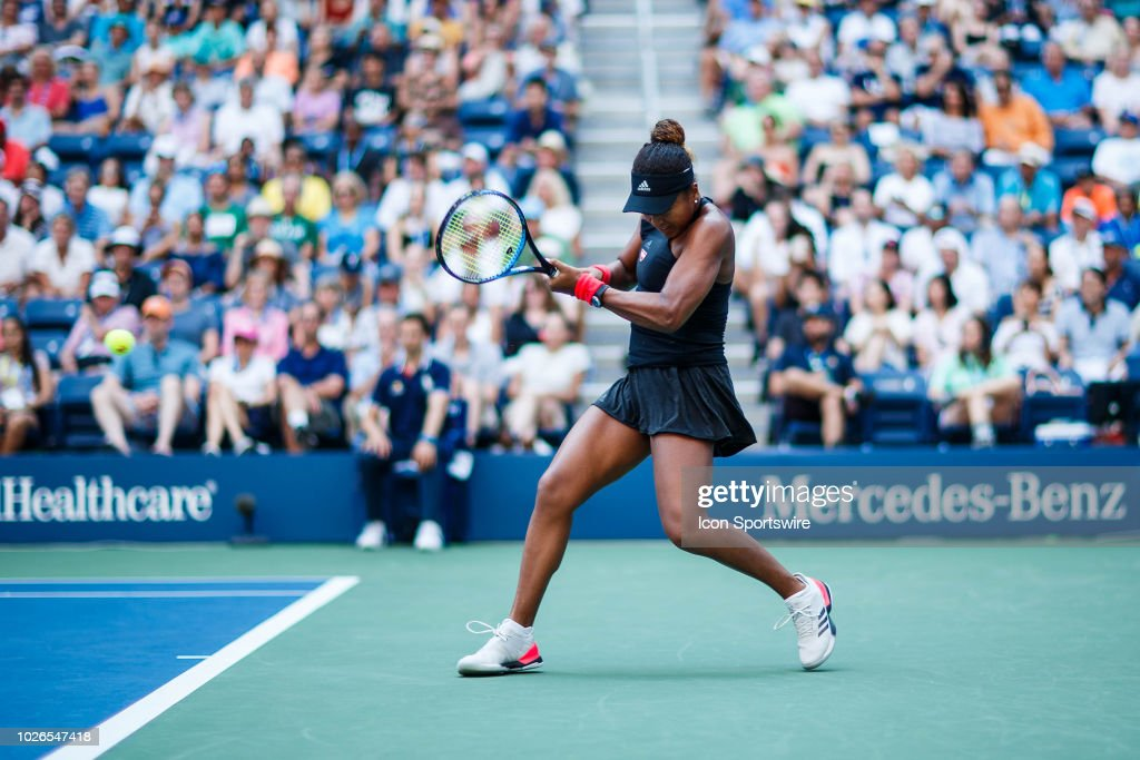 day eight of the 2018 US Open on September 03, 2018, at Billie Jean King National Tennis Center in Flushing Meadow, NY.