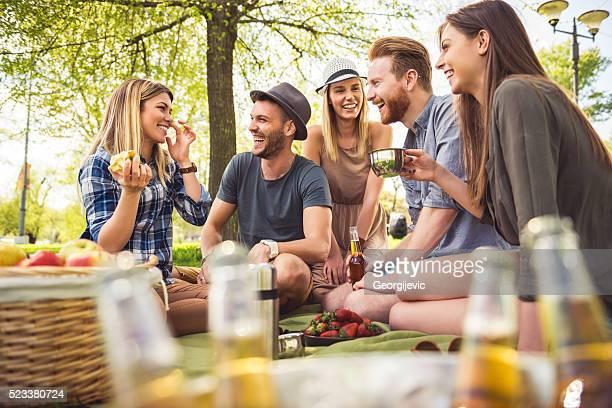 一日で、ピクニック