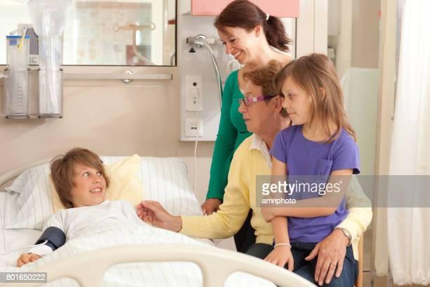 Journée dans la vie d'un Patient, patient visite à l'hôpital