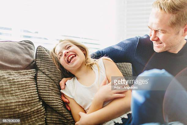 day in the life of a stay at home dad - stay at home father stock-fotos und bilder