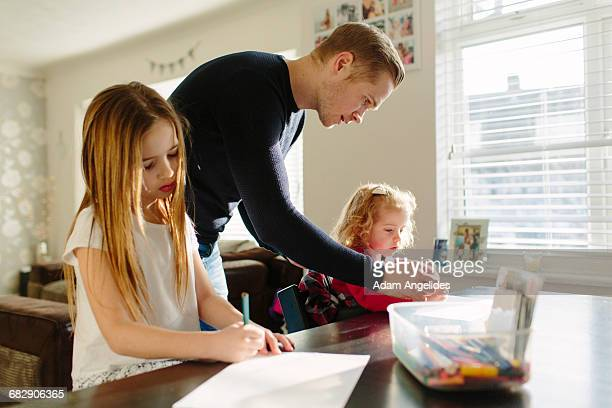 day in the life of a stay at home dad - leanintogether stock pictures, royalty-free photos & images