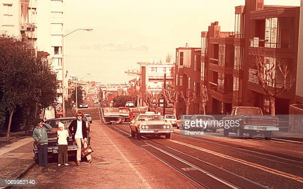 a day in vintage san francisco - archival stock pictures, royalty-free photos & images