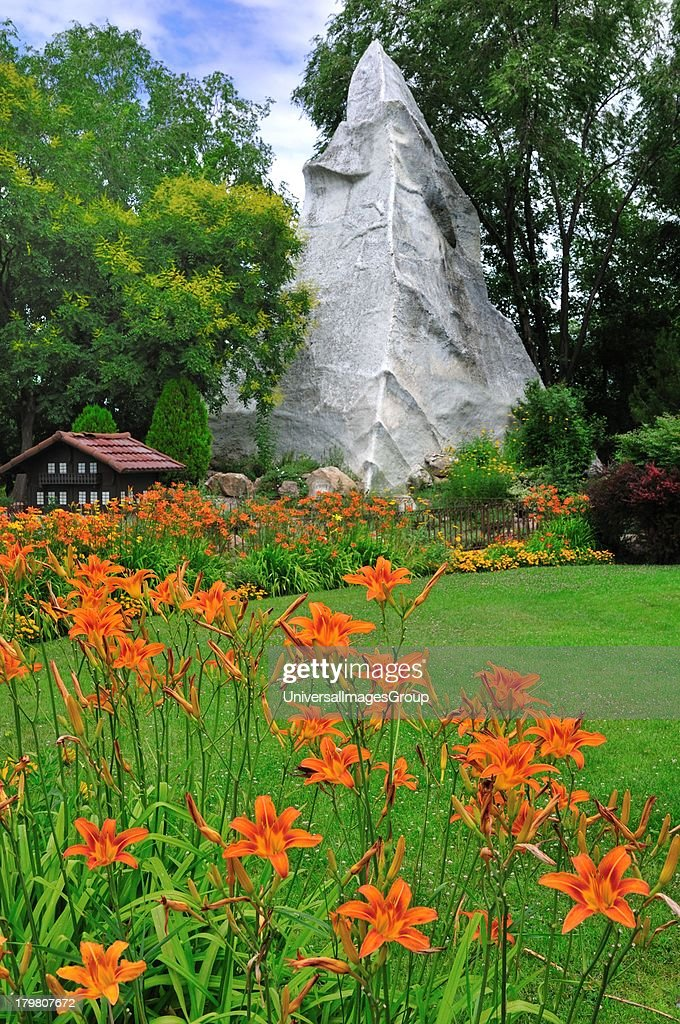 Swiss garden at International Peace Gardens Pictures | Getty Images