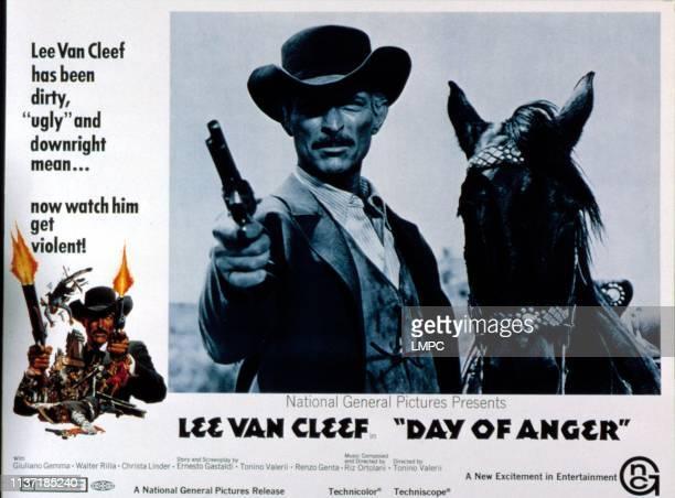 Day Of Anger, lobbycard, Lee Van Cleef, 1967.