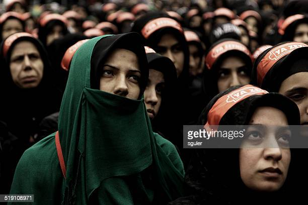 day of ashura - persian girl stock photos and pictures