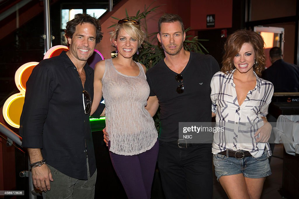 LIVES -- 'Day of Days Fan Event' -- Pictured: (l-r) Shawn Christian, Arianne Zucker, Eric Martsolf, Molly Burnett --