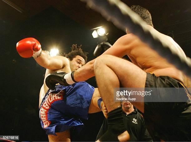 Day of Destruction 2005 in Hamburg 030406 Body Attack Thaiboxing im Veranstaltungszentrum Groe Freiheit 36 SuperSchwergewicht ab 100 kg Florian...