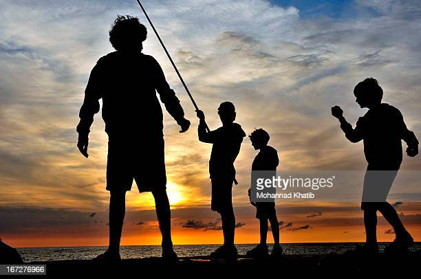 CONTENT] A day of fishing with my 2 sons and their cousins in Beirut Lebanon Long Beach used to be one of the trendy places in Beirut before the...