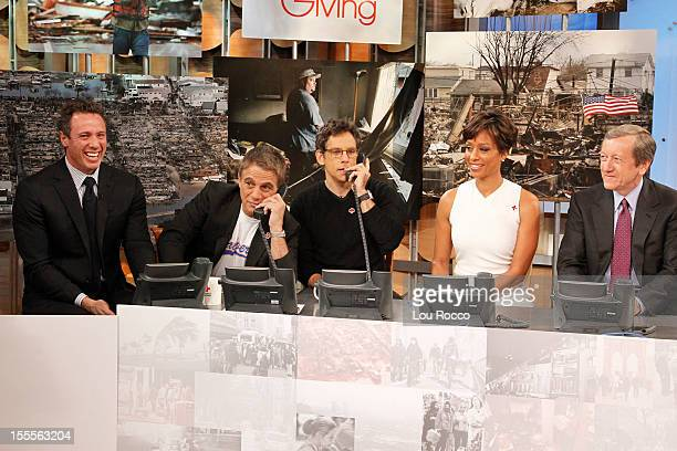 Day of Giving for the benefit of the victims of Hurricane Sandy, begins on GOOD MORNING AMERICA, 11/5/2012, airing on the Walt Disney Television via...