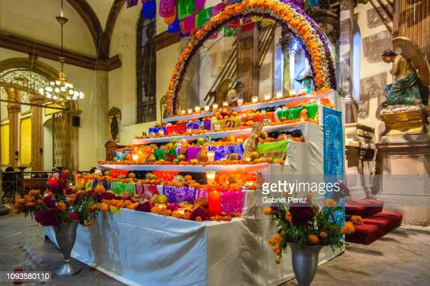 A Day of the Dead Altar in Oaxaca