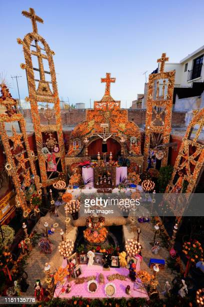 day of the dead altar - day of the dead festival stock photos and pictures