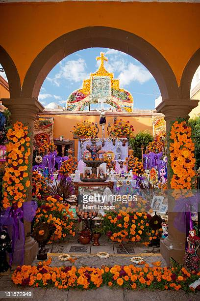 Day of the Dead altar.