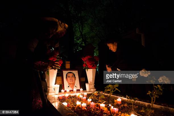 Day of the Dead at Panteon General in Oaxaca, Mexico