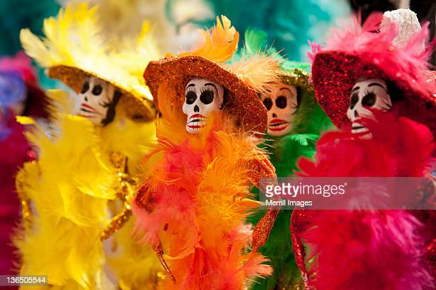 Day of the Dead catrina skelelton dolls