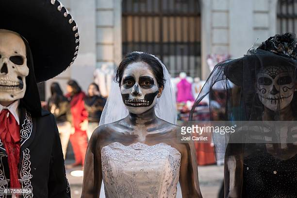 day of the dead costumes in oaxaca mexico