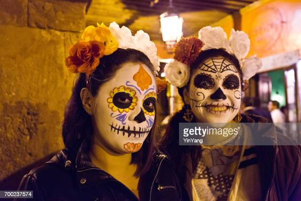 day of the dead, día de muertos in san miguel de allende, mexico - all souls day stock photos and pictures