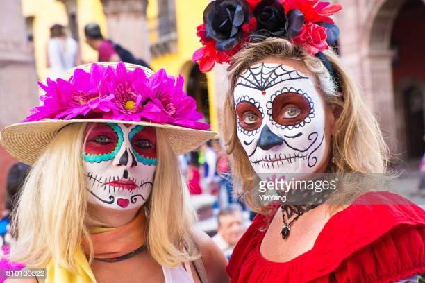 día de los muertos día de muertos en san miguel de allende, méxico - day of the dead fotografías e imágenes de stock