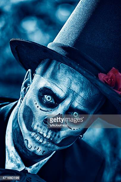 Day of The Dead Groom  - Close Up