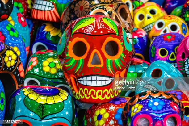 day of the dead in mexico - tradition stock pictures, royalty-free photos & images