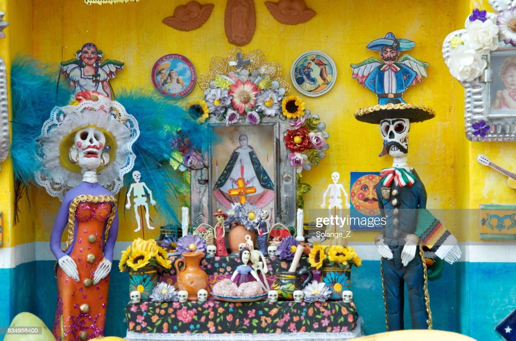 Day of the Dead in Mexico : Stock Photo