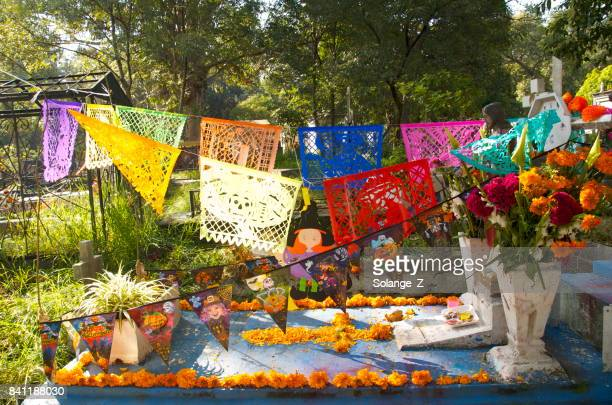 day of the dead in mexico - all souls day stock photos and pictures
