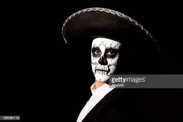 Tag der Toten: Mann mit sombrero