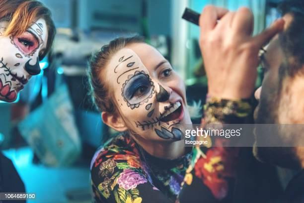 dia de muertos - carnaval evento de celebración fotografías e imágenes de stock